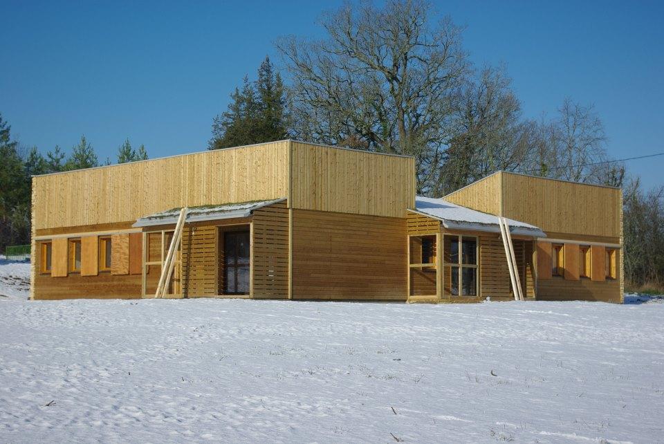 Gite Bioclimatique en bois claire